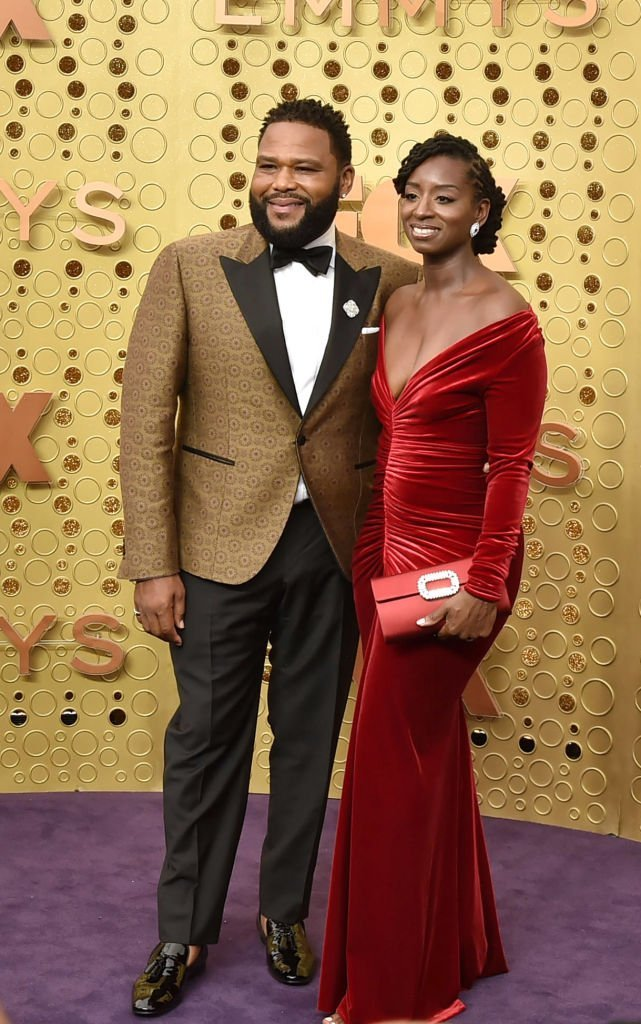 Anthony Anderson et Alvina Stewart assistent aux 71e Emmy Awards au Microsoft Theatre | Photo : Getty Images