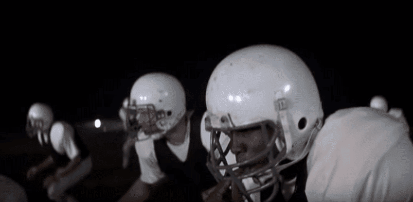 "A snippet from the movie ""Remember the Titans"" 