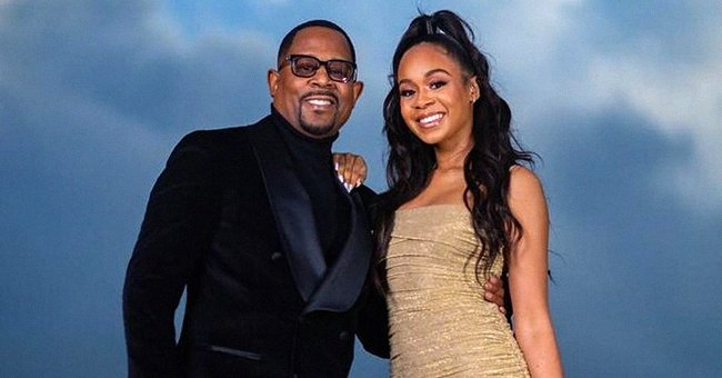 Martin Lawrence & Ex Pat Smith Post Sweet Messages in Honor of Daughter Jasmin's 25th Birthday