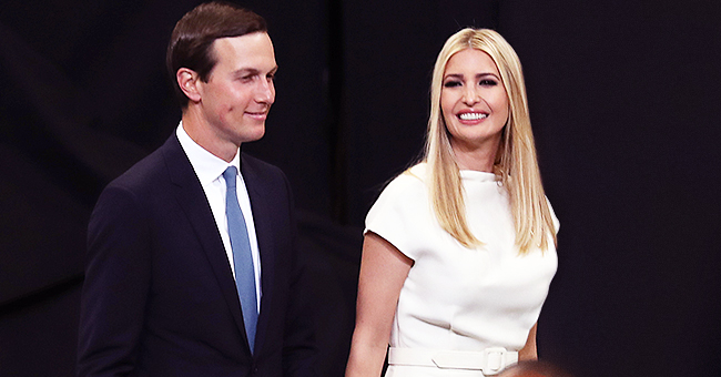 Ivanka Trump Shines in a Snow-White Dress at a 2020 Rally