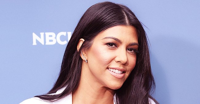 Kourtney Kardashian from KUWTK Shares Sweet Photo of Kids Penelope and Reign Giving Her a Massage