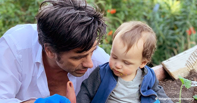 John Stamos and Wife Caitlin on the 'Scary' Premature Arrival of Their Son