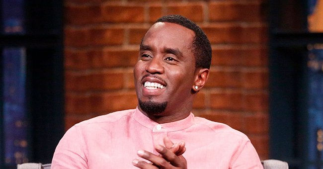 Diddy's 3 Daughters Look Beautiful Wearing Matching Christmas Outfits in a Pic with His Nephew