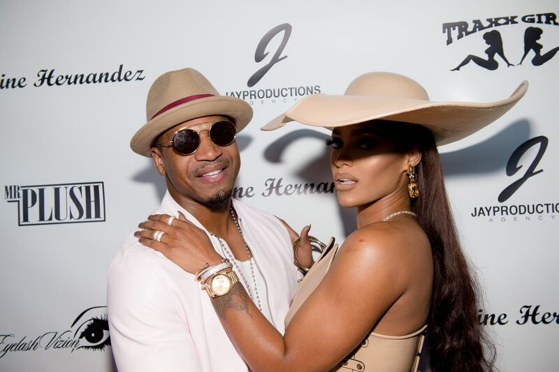Stevie J and ex-girlfriend Joseline Hernandez at an event for the reality TV star | Source: Getty Images/GlobalImagesUkraine
