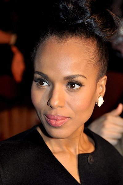 "Kerry Washington in Paris at the French premiere of ""Django unchained."" 