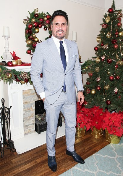 "Don Diamont visits Hallmark's ""Home & Family"" celebrating 'Christmas In July' at Universal Studios Hollywood 