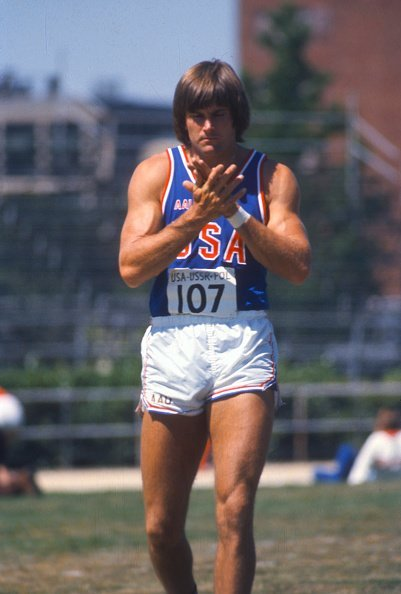 Bruce Jenner at Azteca Stadium in Mexico City, Mexico | Photo: Getty Images