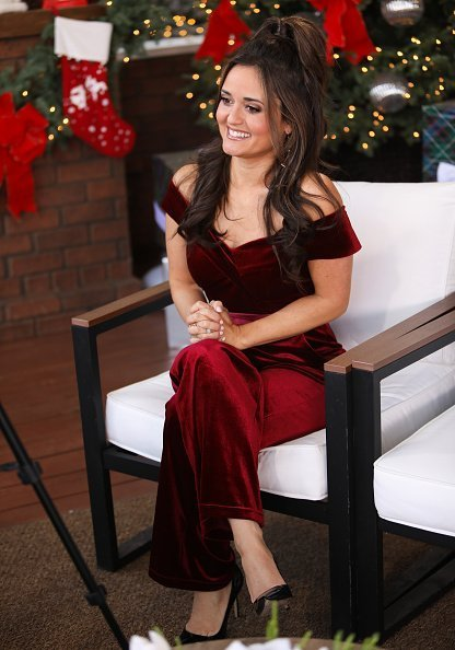 """Danica McKellar visits Hallmark Channel's """"Home & Family"""" at Universal Studios Hollywood in Universal City 