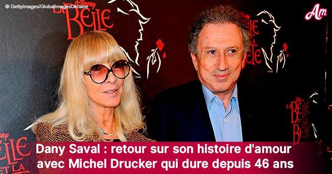 46 ans d'amour: l'histoire touchante de la relation amoureuse de Michel Drucker et Dany Saval