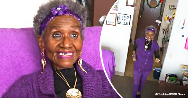86-year-old woman loses 120 lbs by walking around her 1-bedroom apartment