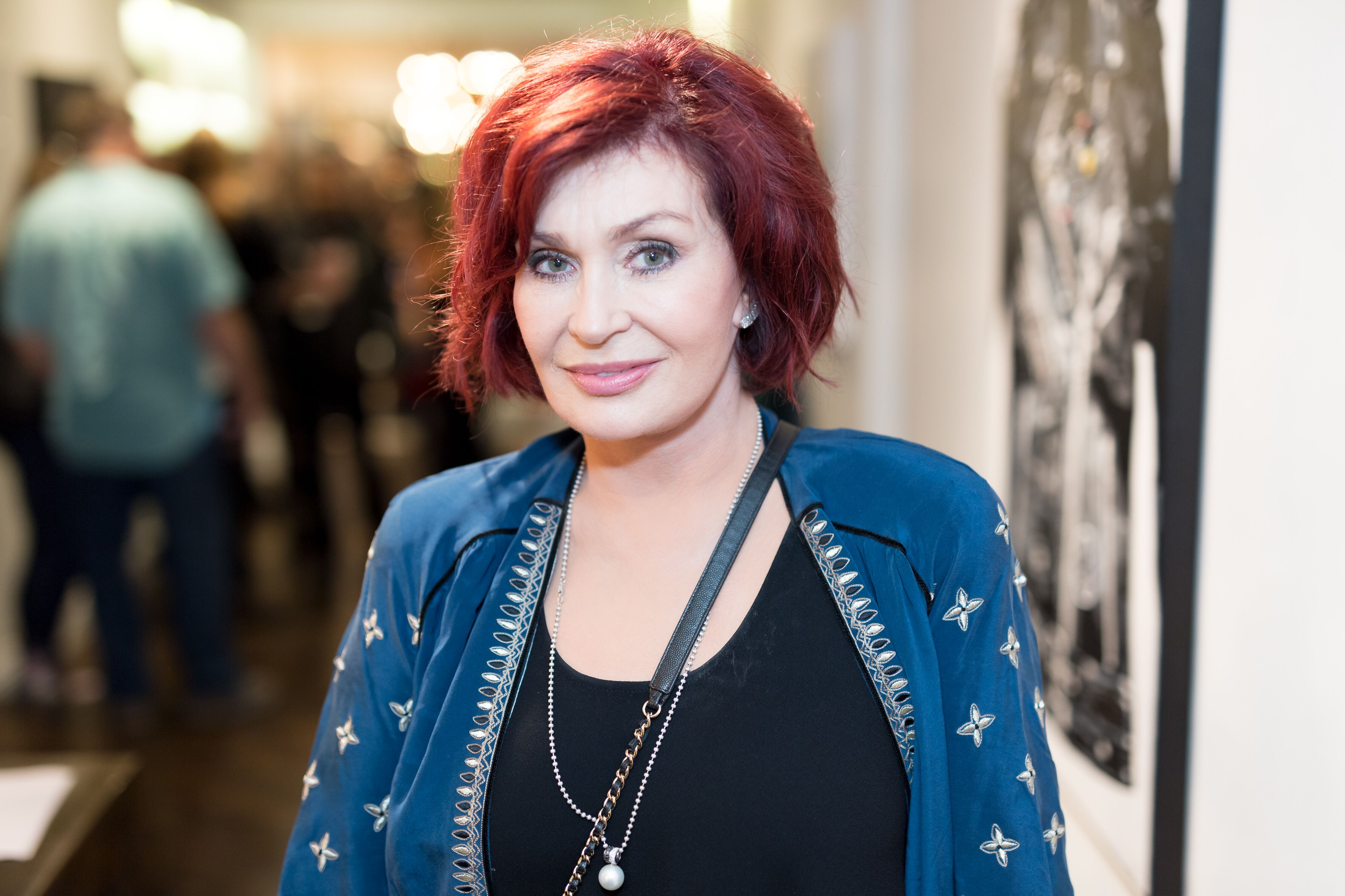 Sharon Osbourne attends the Billy Morrison - Aude Somnia Solo Exhibition at Elisabeth Weinstock on September 28, 2017 in Los Angeles, California | Photo: Getty Images