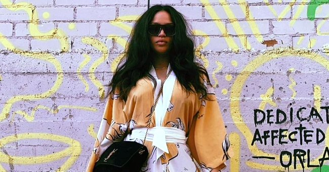 Cassie Shows off Her Post-baby Waist in a $600 Horse-Printed Kimono – See It Here