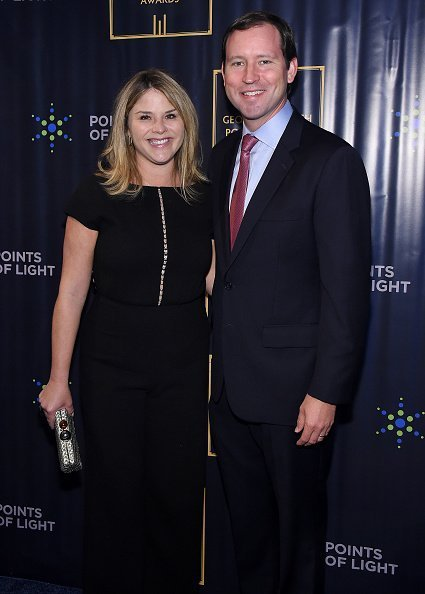 Jenna Bush Hager and Henry Hager attend The George H.W. Bush Points Of Light Awards Gala at Intrepid Sea-Air-Space Museum in New York City | Photo: Getty Images
