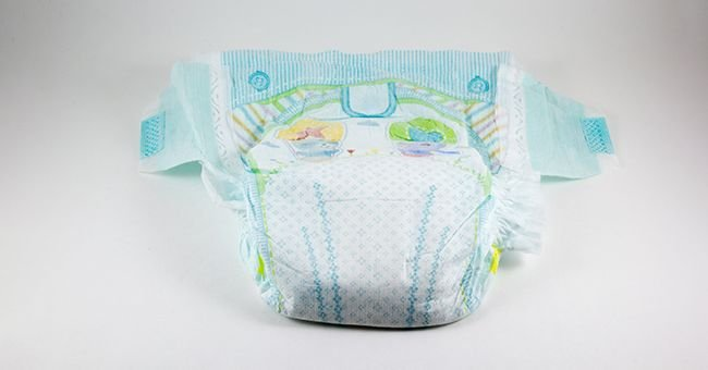 The reason for the baby's restlessness was in the nappy | Source: Shutterstock.com