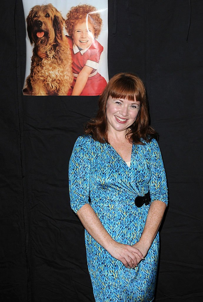 Aileen Quinn dans le Hollywood Show 2012. | Source: Getty Images