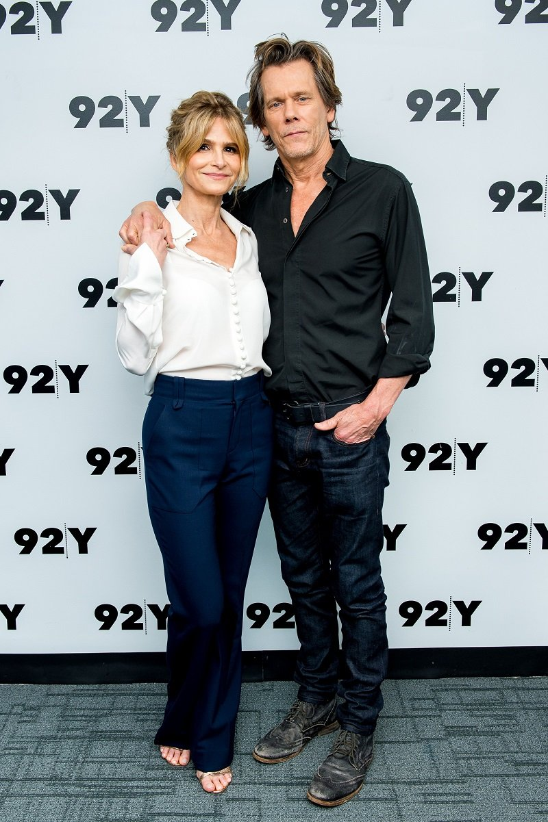 Kyra Sedgwick and Kevin Bacon attending In Conversation at 92nd Street Y in New York City in July 2017. | Image: Getty images.