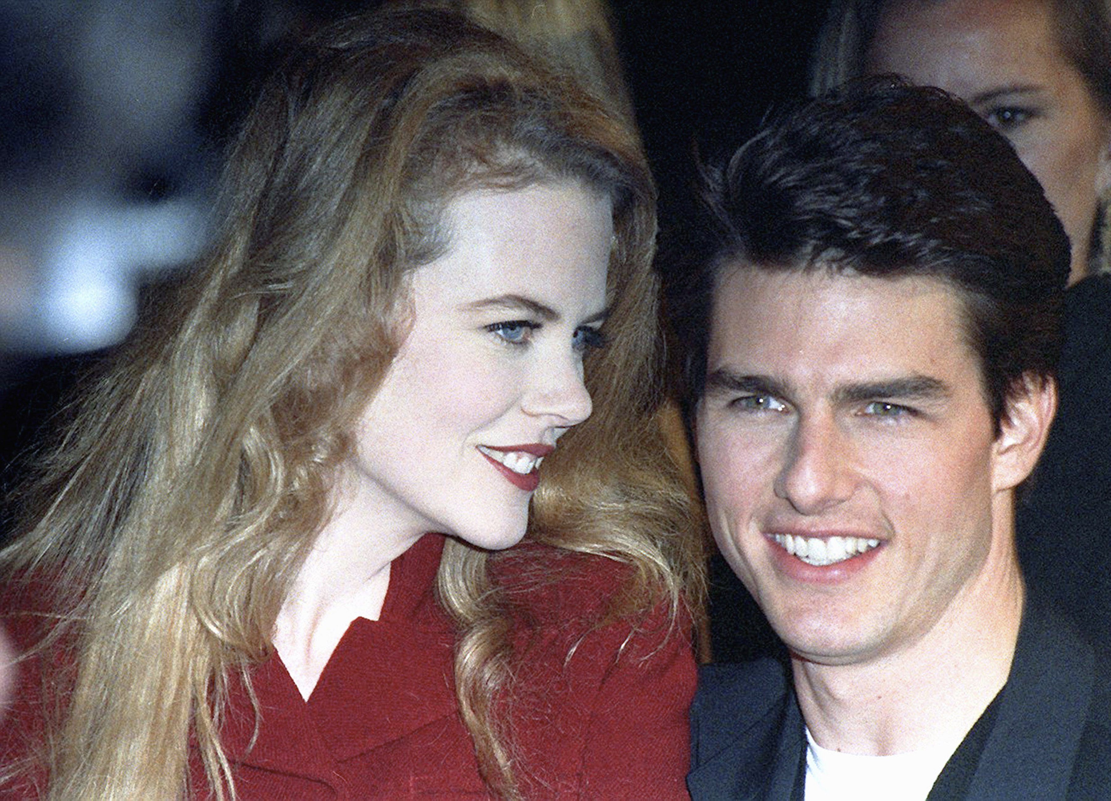 Nicole Kidman and Tom Cruise at the 'A Few Good Men' Westwood Premiere at Mann Village Theatre in Westwood, California | Photo: Kypros/Getty Images
