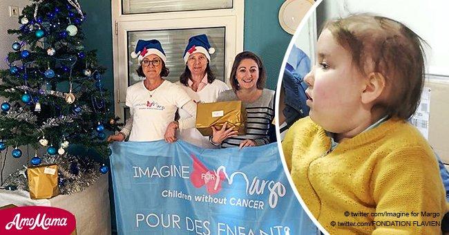 Une fille atteinte d'un cancer veut donner une photo à Emmanuel Macron pour qu'il pense aux enfants malades