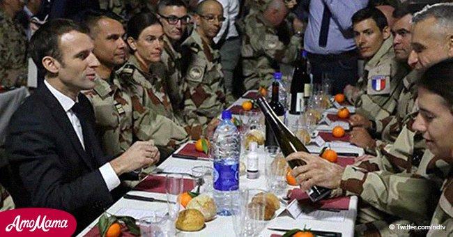 Emmanuel Macron exprime des témoignages de gratitude touchants envers les soldats français pour Noël