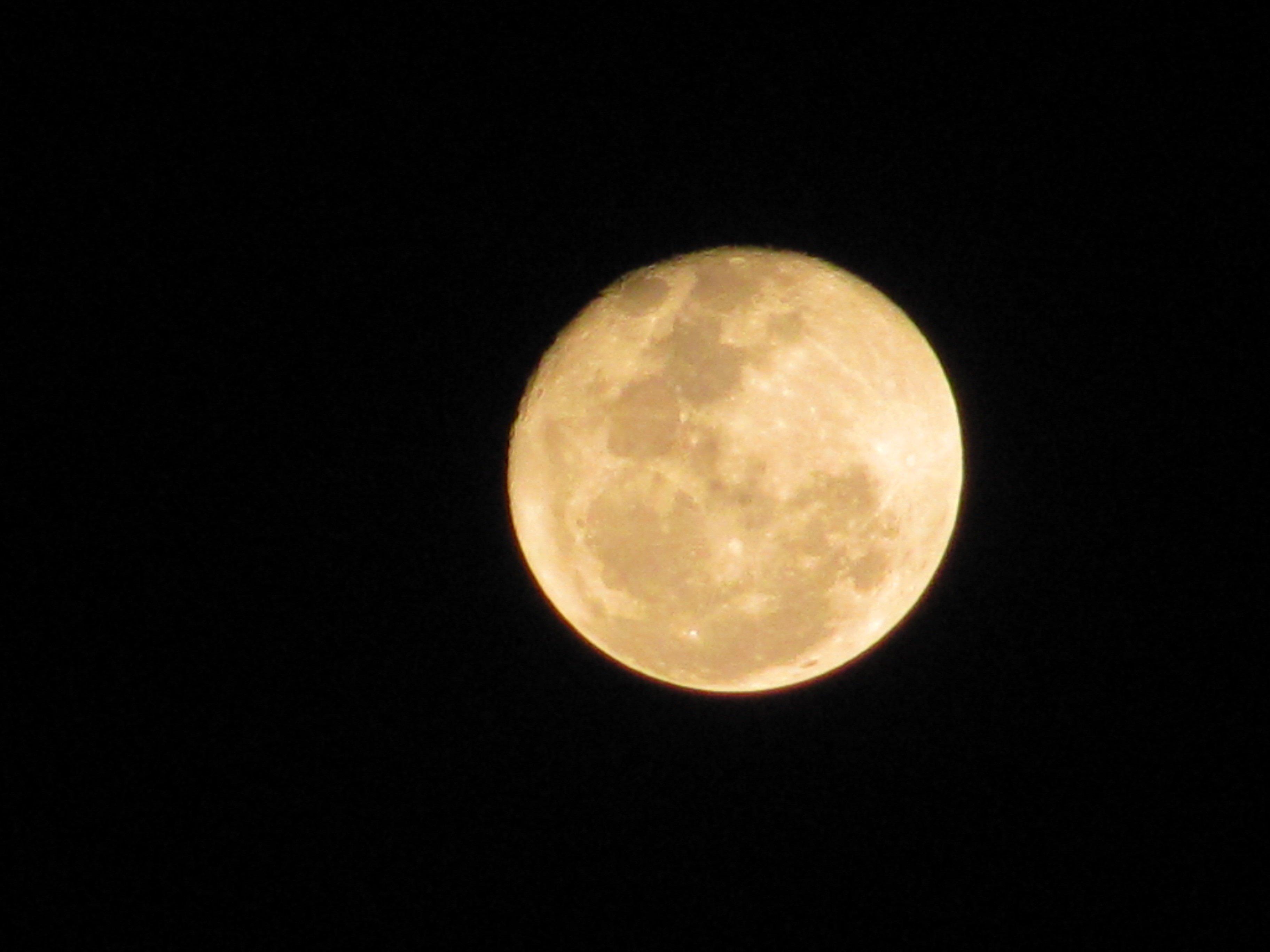 Luna Llena. .   Imagen: Wikimedia Commons