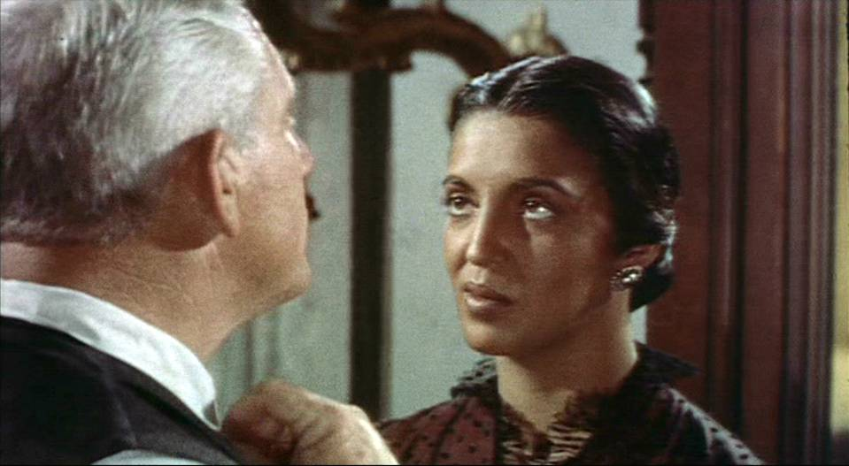 Spencer Tracy y Katy Jurado en una captura de pantalla del trailer de la película Broken Lance.| Foto: Wikimedia Commons