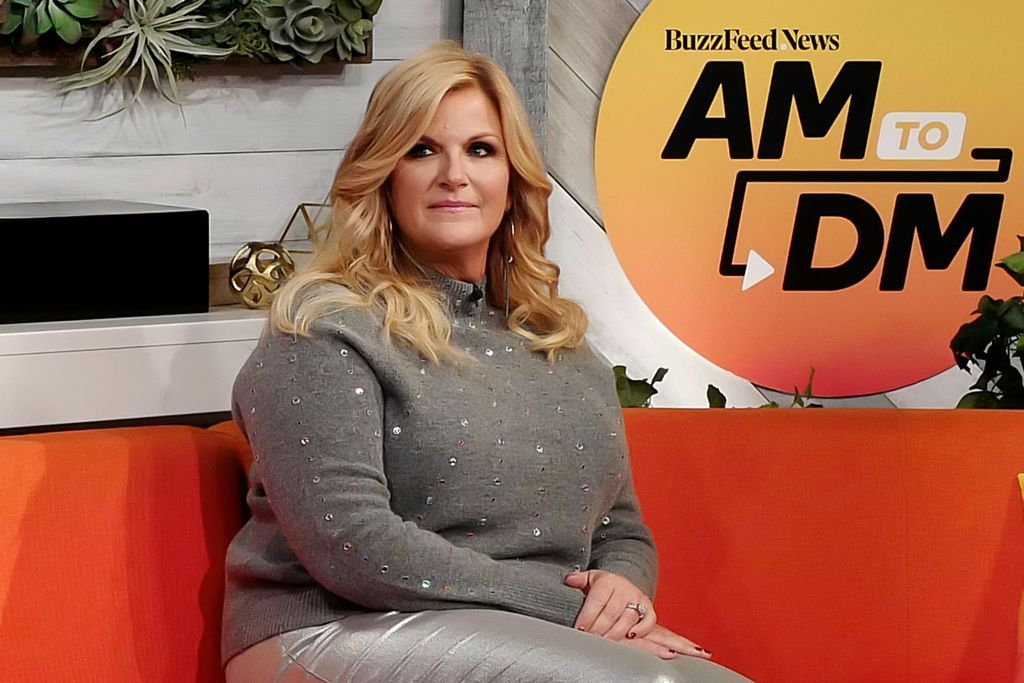 """Trisha Yearwood attends BuzzFeed's """"AM To DM"""" on November 20, 2019 