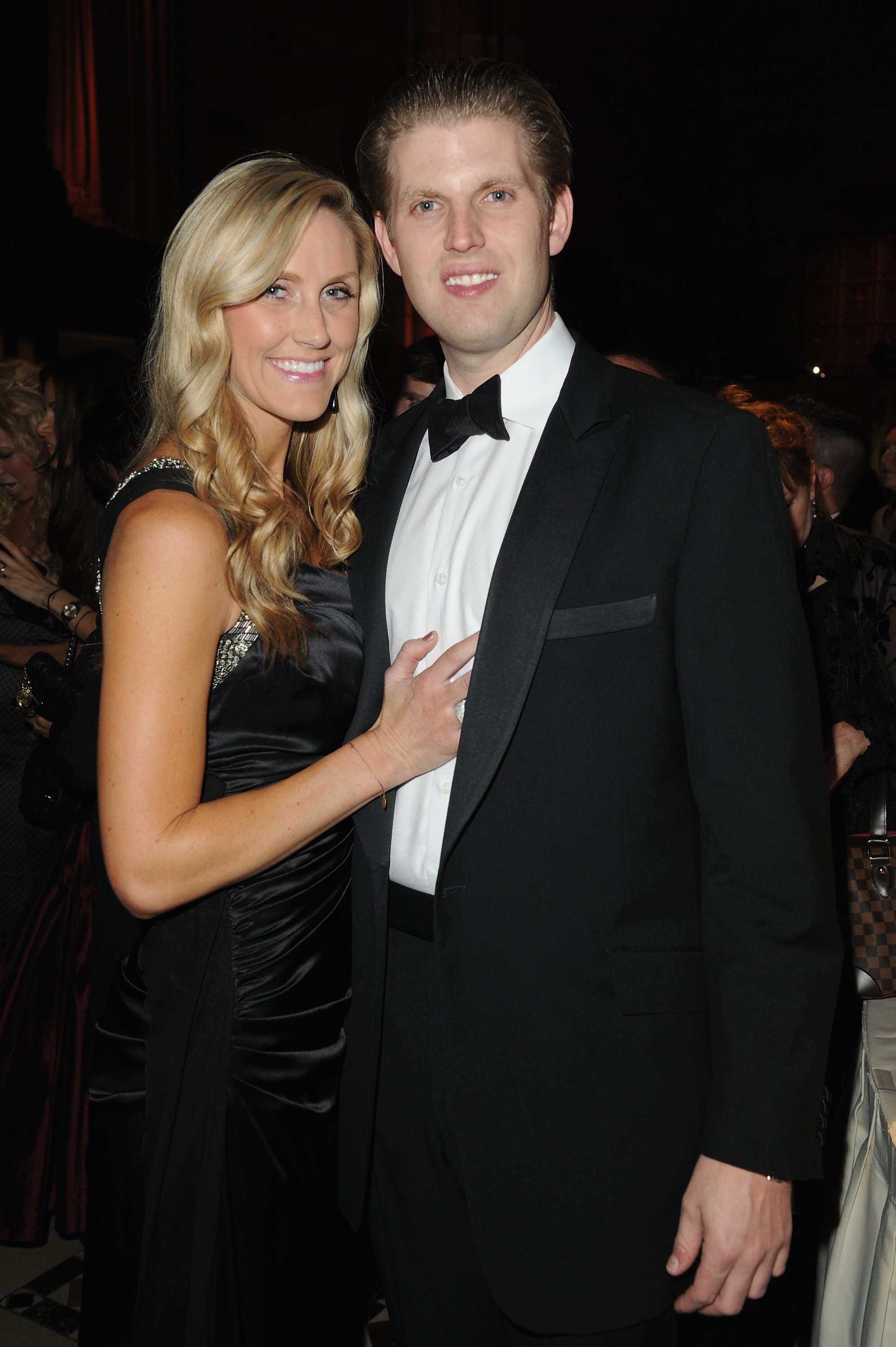 Lara Yunaska and Eric Trump attend European School Of Economics Foundation Vision And Reality Awards on December 5, 2012 in New York City | Photo: GettyImages