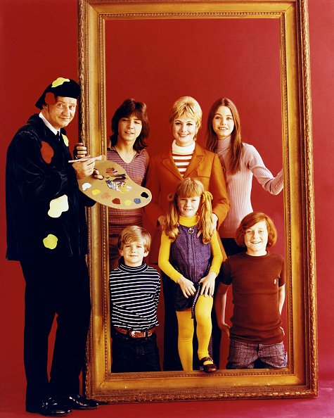 """Publicity photo for """"The Partridge Family,"""" September 1971. 