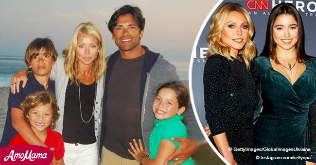 Kelly Ripa's daughter, 17, makes a rare red carpet appearance with mom and she is so grown up