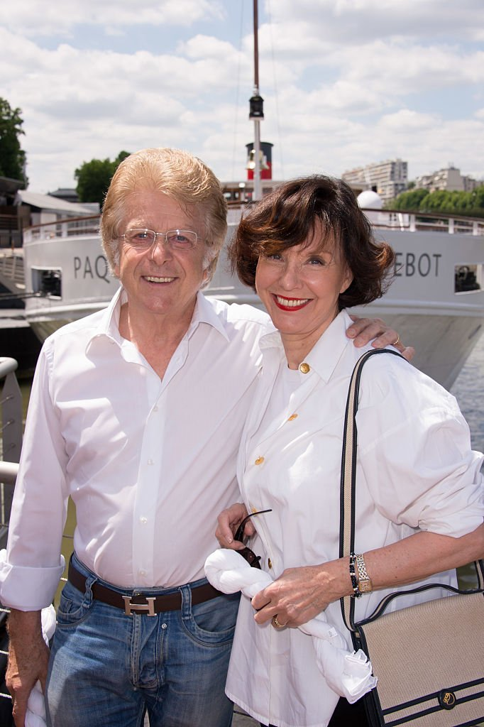 Francis Vandenhende et Denise Fabre participent au 3e White Brunch by Yachts de Paris et à La petite Maison de Nicole, à Paris. | Photo : Getty Images