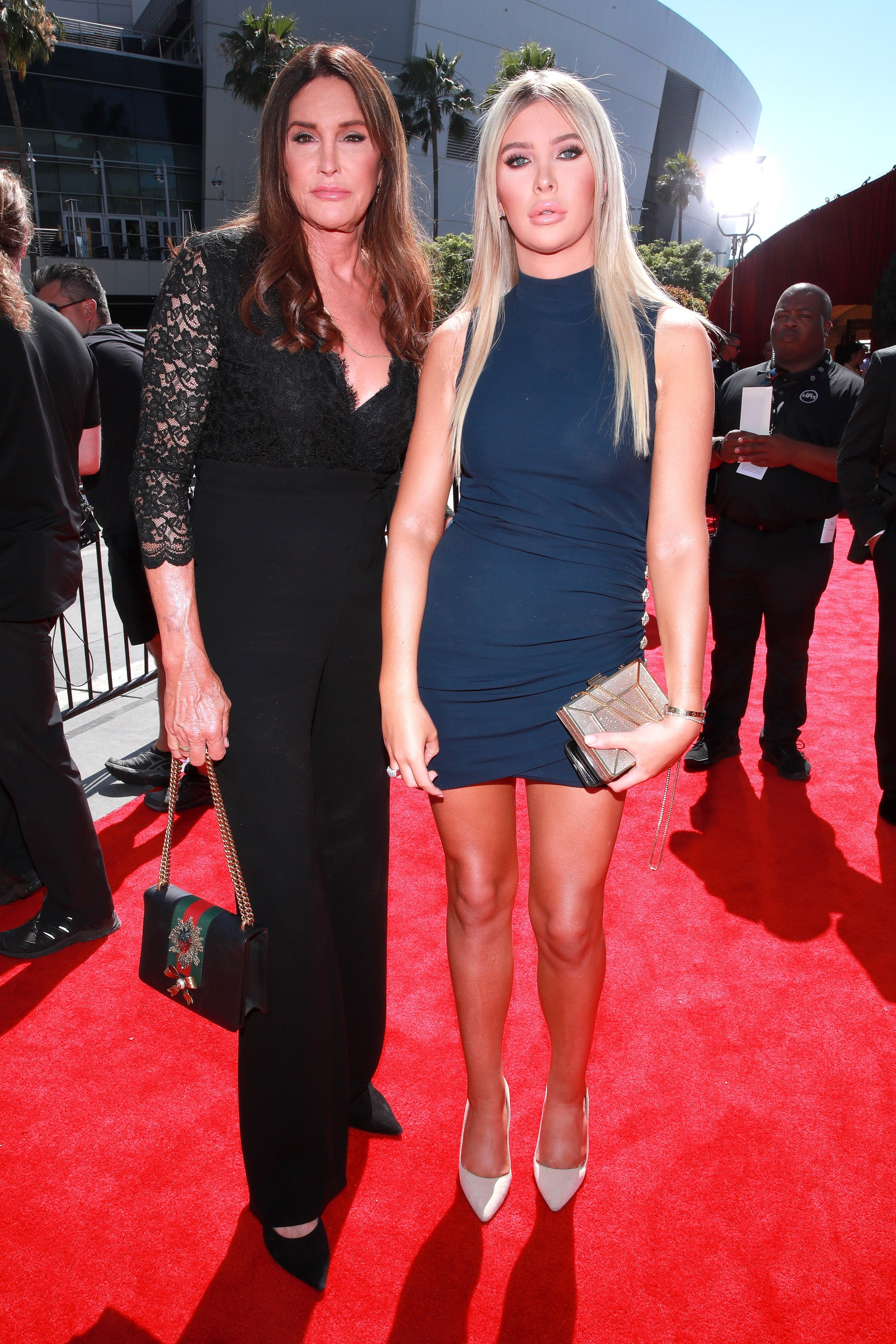 Caitlyn Jenner and Sophia Hutchins attend the annual ESPY Awards in Los Angeles on July 10, 2019 | Photo: Getty Images