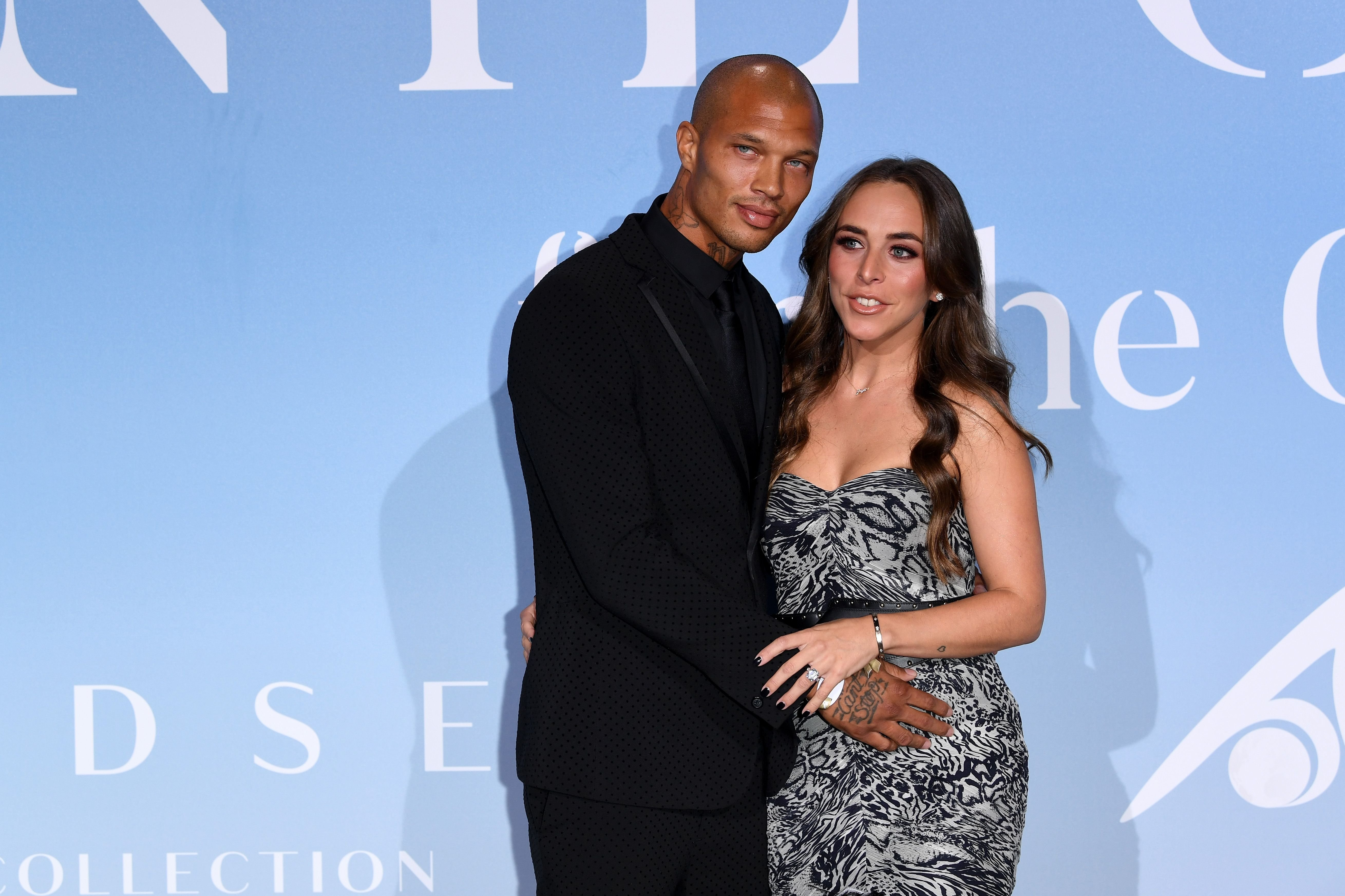 Jeremy Meeks and Chloe Green at the Gala for the Global Ocean hosted by H.S.H. Prince Albert II of Monaco in 2018 in Monte-Carlo | Source: Getty Images