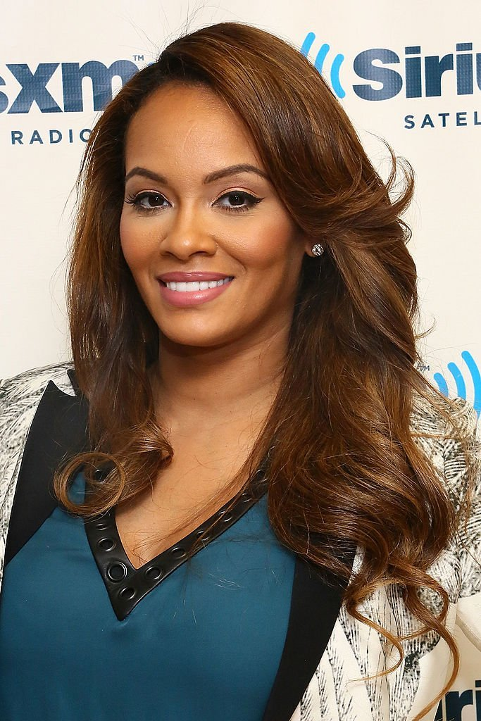 TV personality Evelyn Lozada visits the SiriusXM Studios | Photo: Getty Images