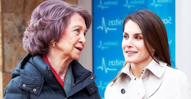 Doña Sofía y la Reina Letizia de España | Foto: Getty Images