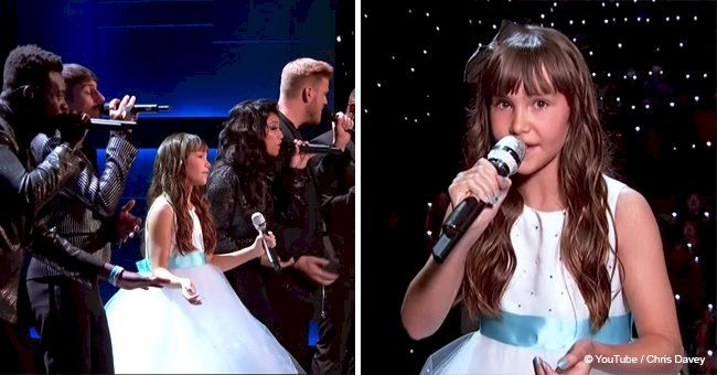 Pentatonix and a young girl with autism perform 'Hallelujah' together and it's simply breathtaking