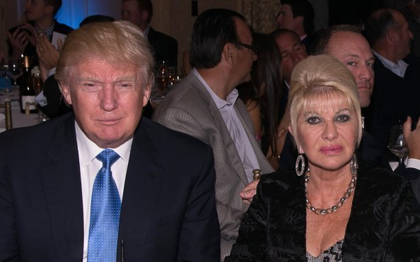 Donald Trump and Ivana Trump at Trump National Golf Club Westchester on September 15, 2014 in Briarcliff Manor, New York | Photo: Getty Images