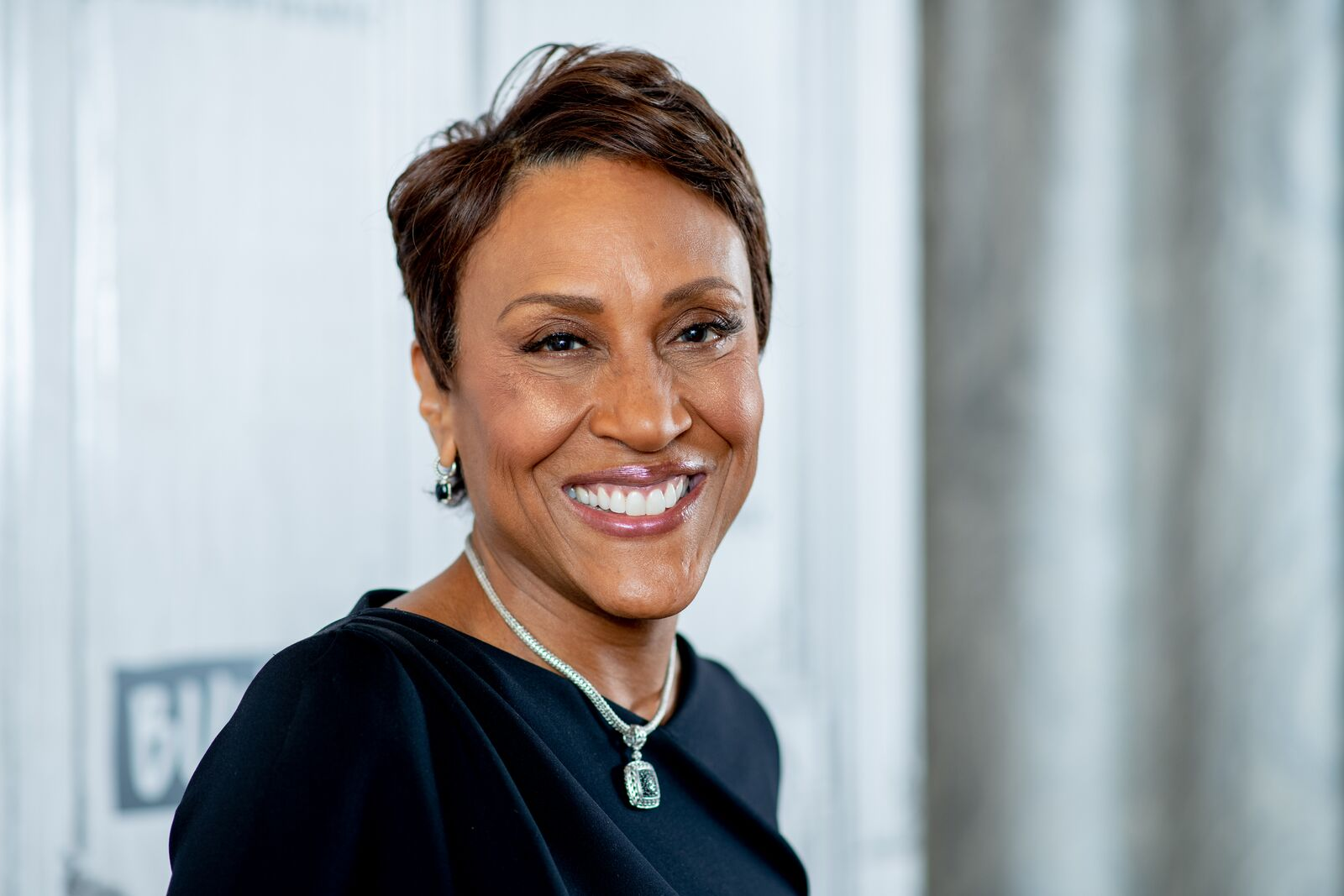 "Robin Roberts discusses ""Thriver Thursday"" with the Build Series at Build Studio on November 20, 2018 in New York City. 