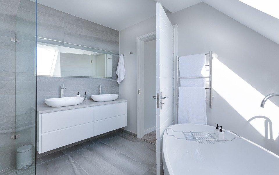 Baño limpio / Imagen tomada de: Pixabay