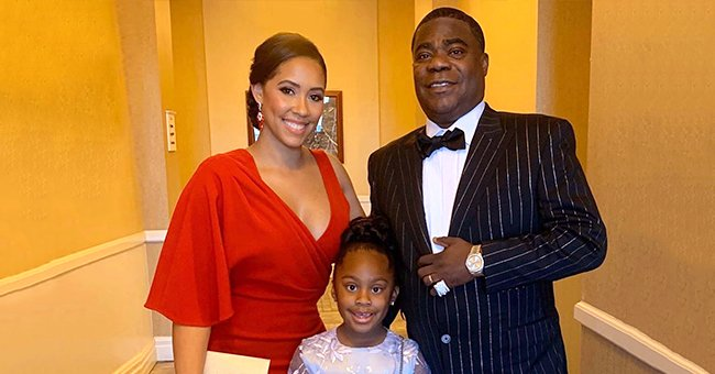 Tracy Morgan of '30 Rock' Fame Shares Photos with His Wife Megan & Daughter Maven in Stunning Outfits