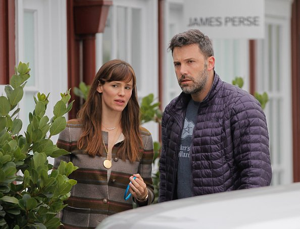 Jennifer Garner and Ben Affleck are seen in Brentwood on June 10, 2015 in Los Angeles, California. | Photo: Getty Images