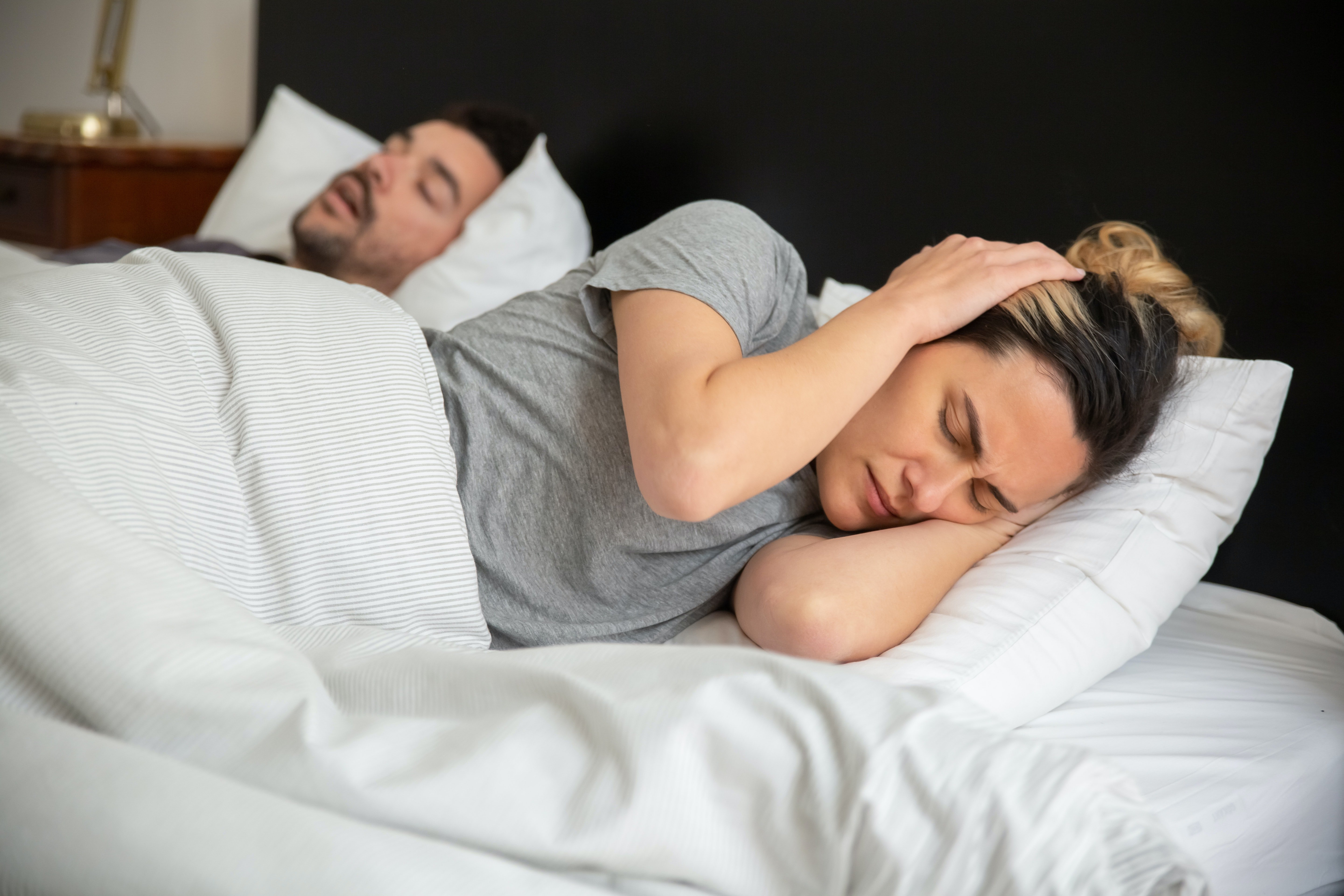 Her husband snored so loudly! | Photo: Pexels/Kampus Production