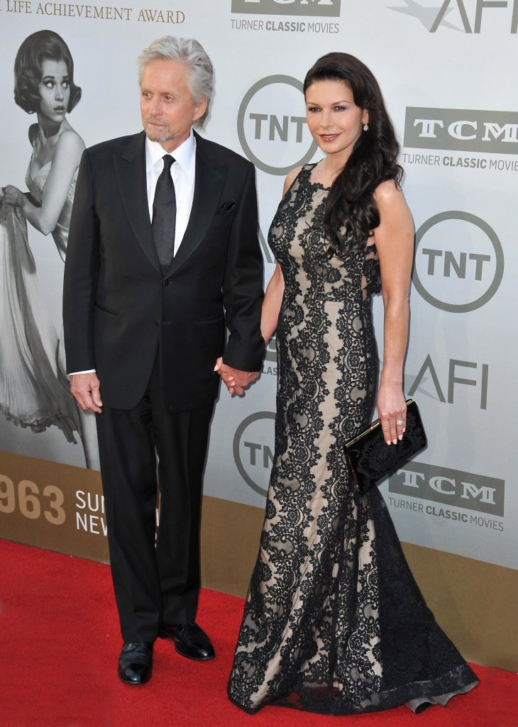 Michael Douglas & Catherine Zeta-Jones at the 2014 American Film Institute's Life Achievement Awards | Source: Shutterstock.com