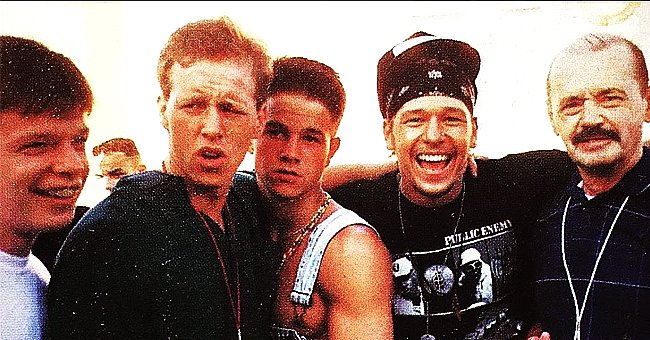 Donnie Wahlberg from 'Blue Bloods' Shows His Resemblance to Father & Siblings in a Throwback Photo