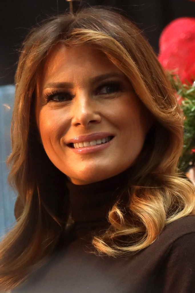 Melania Trump during her visit at Children's National Hospital December 6, 2019 in Washington, DC. | Photo: Getty Images