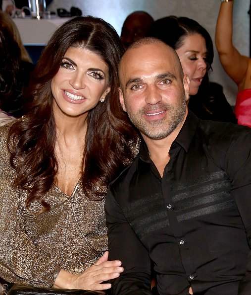 Teresa Giudice and Joe Gorga at Macaluso's on March 30, 2016 in Hawthorne, New Jersey. | Photo: Getty Images
