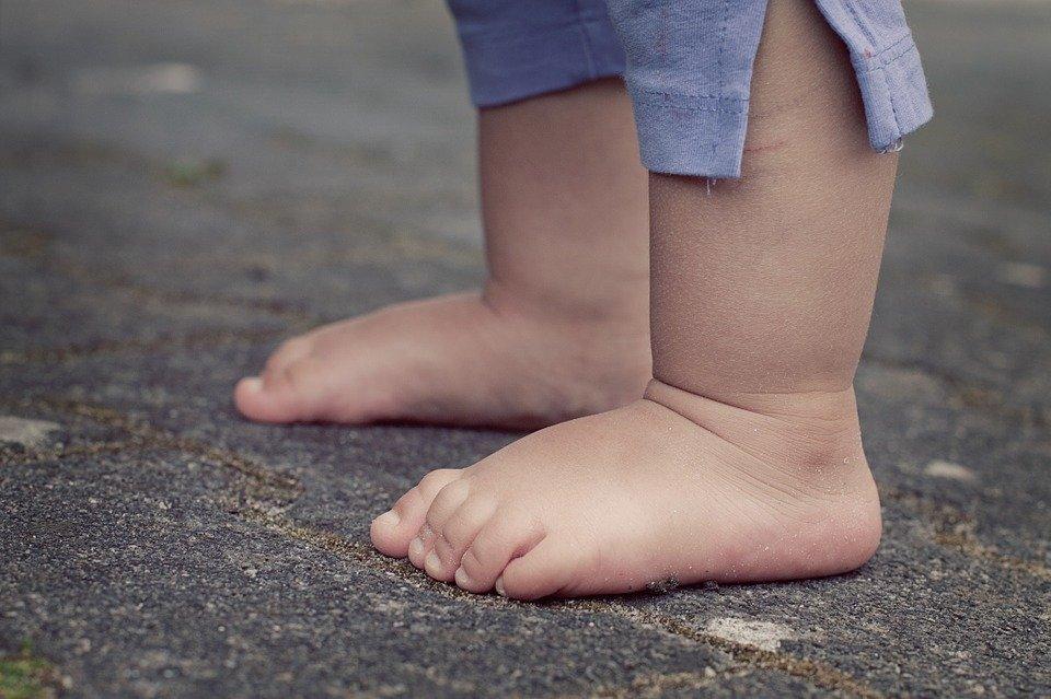Pied d'un bébé. | Photo : Pixabay