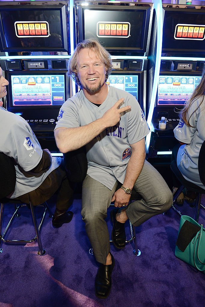 Kody Brown at the tournament event for charities at the 15th annual Global Gaming Expo at the Sands Expo and Convention Center on September 29, 2015. | Photo: Getty Images