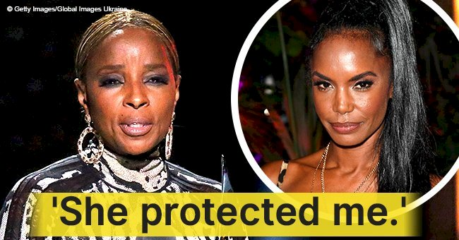 Mary J. Blige breaks down in tears during eulogy at close friend Kim Porter's funeral