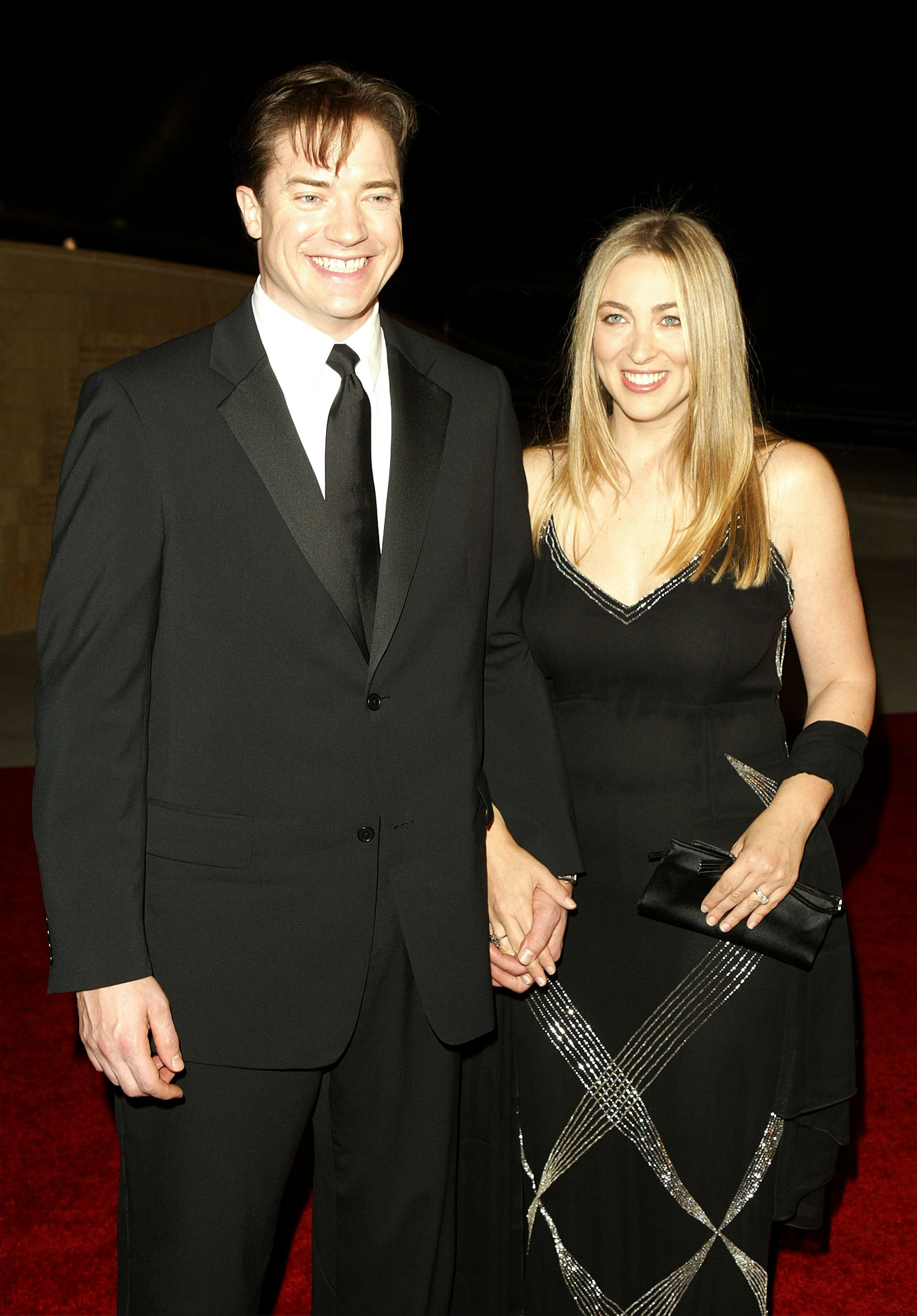 Brendan Fraser and Afton Smith on October 23, 2003 in Los Angeles, California | Source: Getty Images