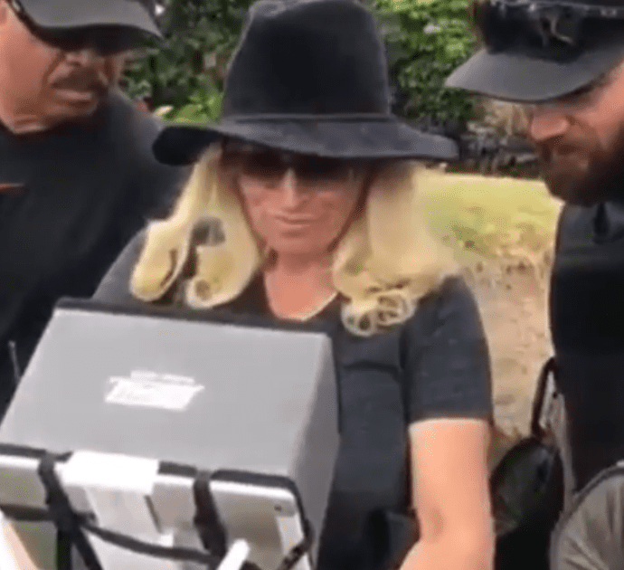 "Beth Chapman flies a drone in the first two episodes of ""Dog's Most Wanted"" 
